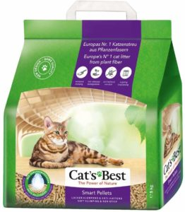 Litière végétale Cat's Best Nature Gold Smart Pellets