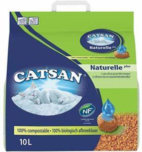 Litière végétale Catsan Naturelle Plus