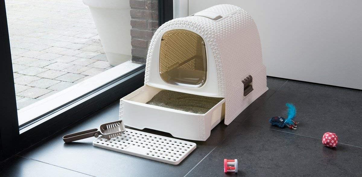 Maison de toilette avec filtre Curver