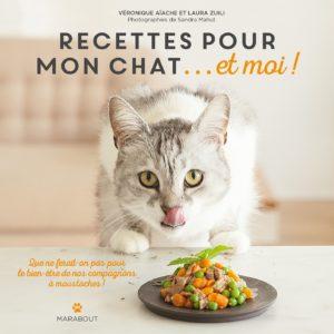 Recettes pour mon chat et moi (Véronique Aïache, Laura Zuili)